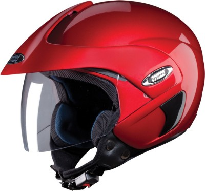 STUDDS MARSHALL OPEN FACE Motorsports Helmet(CHERRY RED)