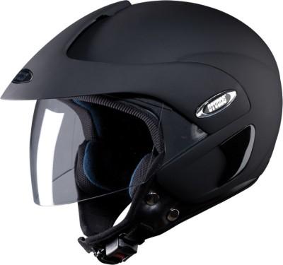 STUDDS MARSHALL OPEN FACE - L Motorsports Helmet(MATT BLACK)