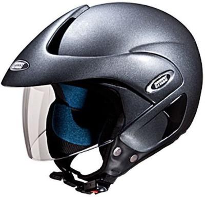 STUDDS MARSHALL OPEN FACE Motorsports Helmet(Gun grey)