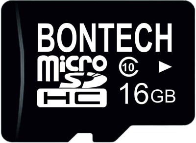 BONTECH 10X 16 GB MicroSD Card Class 10 100 MB/s Memory Card(With Adapter)