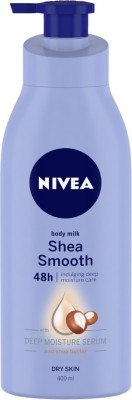 NIVEA Body Milk Shea Smooth(400 ml)