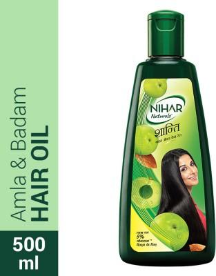 NIHAR Naturals Shanti Amla Badam Hair Oil(500 ml)