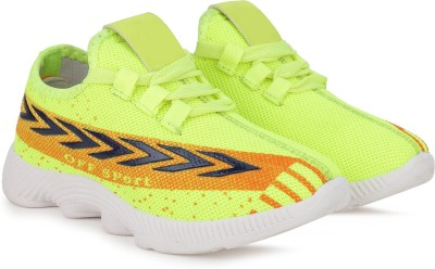 FAST TRAX Boys   Girls Lace Running Shoes Green