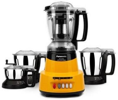 Panasonic MX-AC425 QUARTZ YELLOW 600 Juicer Mixer Grinder (4 Jars, Yellow)