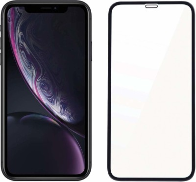 ELEF Edge To Edge Tempered Glass for Apple iphone XS Max Super D Tempered Glass (D Plus Quality)(Pack of 1)