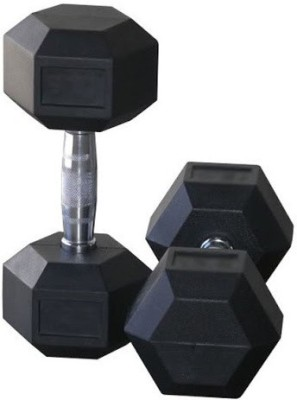 Protoner Hex Dumbbell 1.25 Kg Pair Home Gym Kit