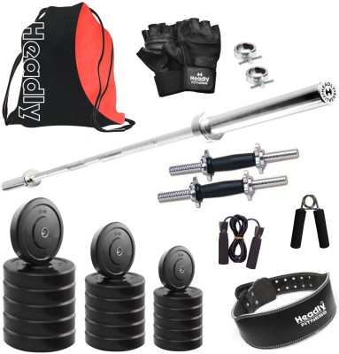 Headly HR 10 kg Combo 29 Home Gym Kit