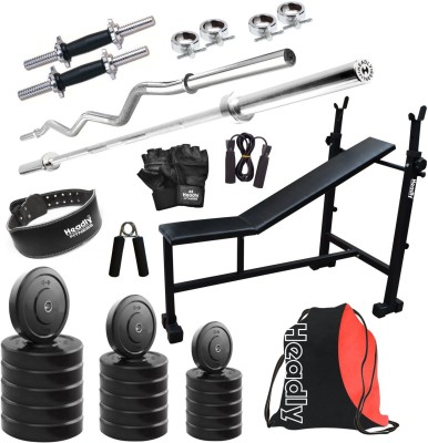 Headly HR 25 kg Combo 6 Home Gym Kit