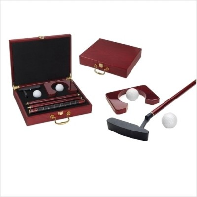 Smiledrive Executive with Wooden Case Golf Kit