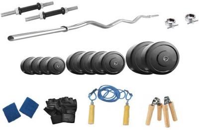 Protoner 20 Kgs   3 Rods Home Gym Kit