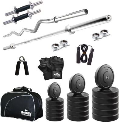 514dfba324f 23% OFF on Headly 40 kg Combo CC 2 Total Home Gym Kit on Flipkart ...