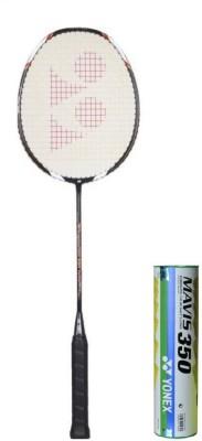 Yonex Voltric 100 Taufik & Mavis 350 Badminton Kit