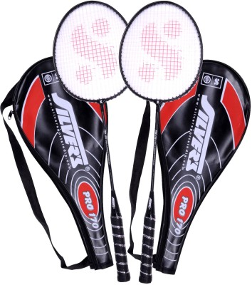 Silver's Pro 170 Badminton Kit 2 Racquets with Cover