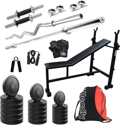 Headly HR 25 kg Combo 5 Home Gym Kit