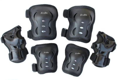 Xerobic Kid's Protective Guard Roller Blading Wrist Elbow Knee Pads Blades Guard 6 PCS Set Skating Kit  available at flipkart for Rs.449