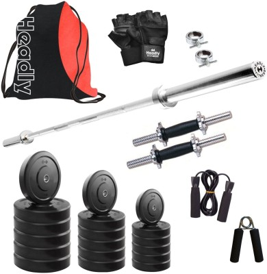 Headly HR 20 kg Combo 9 Home Gym Kit
