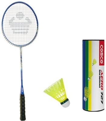 COSCO Cbx 400 With Aero 727 Nylon Shuttlecock Badminton Kit COSCO Badminton Kits