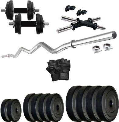 KRX PVC 20 KG COMBO 4 WB Home Gym Kit