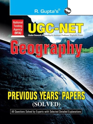 NTA UGC NET GEOGRAPHY PREVIOUS YEARS  SOLVED PAPERS 2022