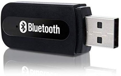 Trueshop v4.1 Car Bluetooth Device with USB Cable, Adapter Dongle, 3.5mm Connector, MP3 Player(Black)