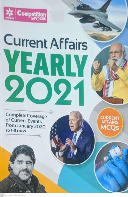Current Affairs Yearly 2021 Jan 2020 To Till Now(Paperback, Arihant expert team)