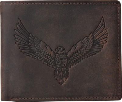 URBAN FOREST Men Brown Genuine Leather Wallet(6 Card Slots)