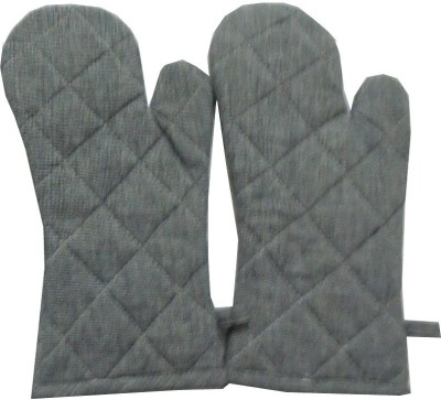 Tidy Grey Cotton Kitchen Linen Set(Pack of 2) at flipkart