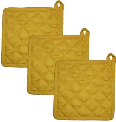 Airwill Yellow Cotton Kitchen Linen Set(Pack of 3) at flipkart