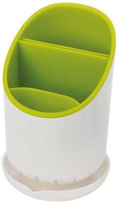 Insasta Dry Cutlery Holder Strainer Drainer Spoon fork Organizer Plastic Kitchen Rack(Green) at flipkart