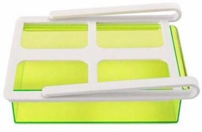Dragon Fridge Freezer Space Saver Organizer Tray Plastic Kitchen Rack(Multicolor) at flipkart
