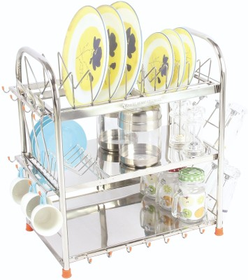 Amol RC33 Stainless Steel Kitchen Rack(Silver) at flipkart