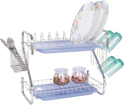 Amol Stainless Steel Kitchen Rack(Steel)