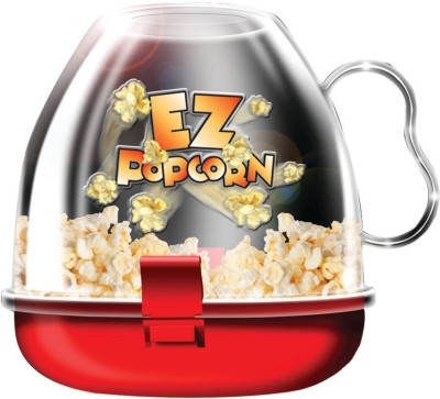 CPEX Small Fast Easy Mini poppers Microwave Ware 500 g Popcorn Maker(Red and White) at flipkart