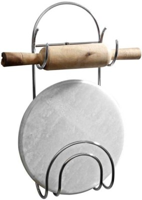 VCK Chakla Belan Stand Steel Kitchen Rack(Silver) at flipkart