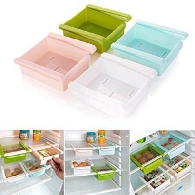 Kartsasta Multifunction Kitchen Refrigerator Storage Rack home Fruits/Vegetables Kitchen Rack Plastic