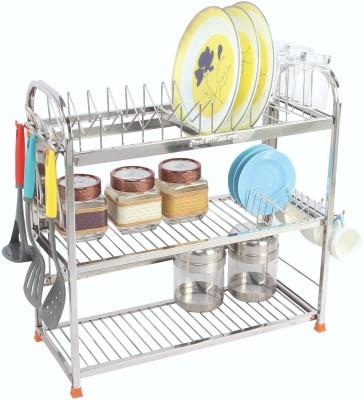 Amol SN54 Stainless Steel Kitchen Rack(Steel)