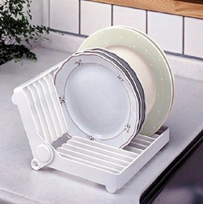 Hokipo Plastic Kitchen Rack(White) at flipkart