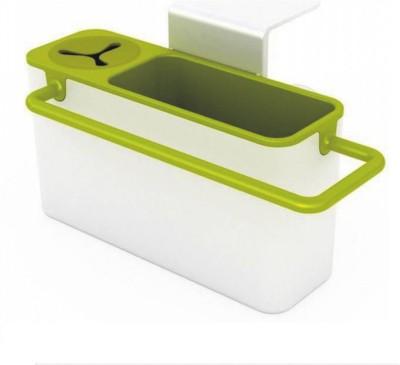 Mehakent Plastic Kitchen Rack(Green, White) at flipkart