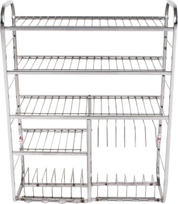 Krishna Mudular Stainless Steel Kitchen Rack(Steel) at flipkart