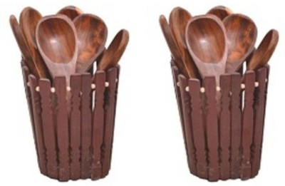 VAS Collection Home WAZV00321 Spoons Brown Kitchen Tool Set(Brown) at flipkart