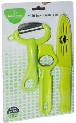 50 off on blossoms knife peeler and opener green kitchen for Kitchen set on flipkart