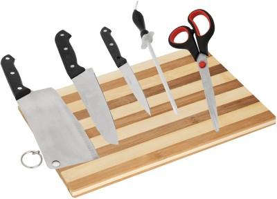 BJE Chopping board knife set-101 Multicolor Kitchen Tool Set at flipkart
