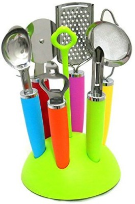 CookStyle 6 Pieces Multicolor Kitchen Tool Set(Multicolor) at flipkart