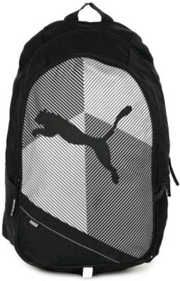 PUMA Echo Plus 18.5 L Medium Backpack Black PUMA Backpacks
