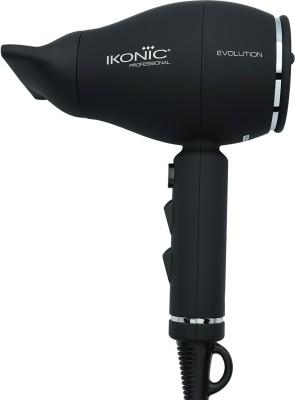 Ikonic Professional Evolution Hair Dryer(1800 W, Black)