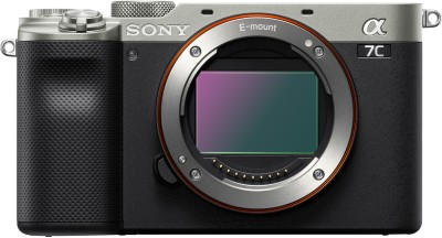 SONY ILCE-7C/SQ IN5 Mirrorless Camera Mirrorless(Black, Silver)