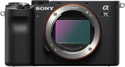 SONY ILCE-7C/BQ IN5 Mirrorless Camera Mirrorless(Black)
