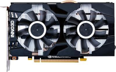 Inno3D NVIDIA GF GTX1660 SUPER 6 GB GDDR6 Graphics Card(Black)