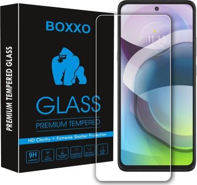 Boxxo Tempered Glass Guard for Motorola Moto G 5G(Pack of 1)