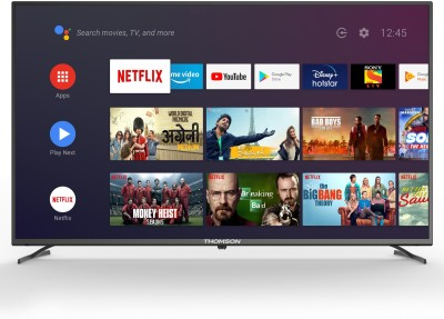 Thomson 126cm (50 inch) Ultra HD (4K) LED Smart Android TV with Dolby Vision and Dolby Digital Plus(50OATHPRO1212)